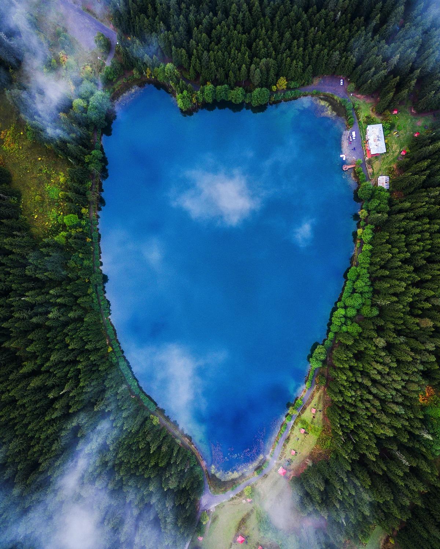 9 @michaelmatti Karagol, a lake in northeast Turkey