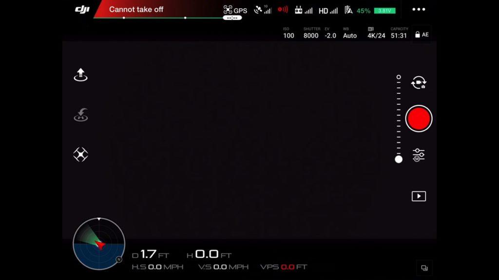 Telemetry-DJI Go App Drone