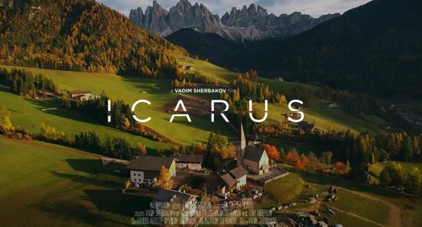 Vadim Sherbakov drone film Icarus - cover image 600