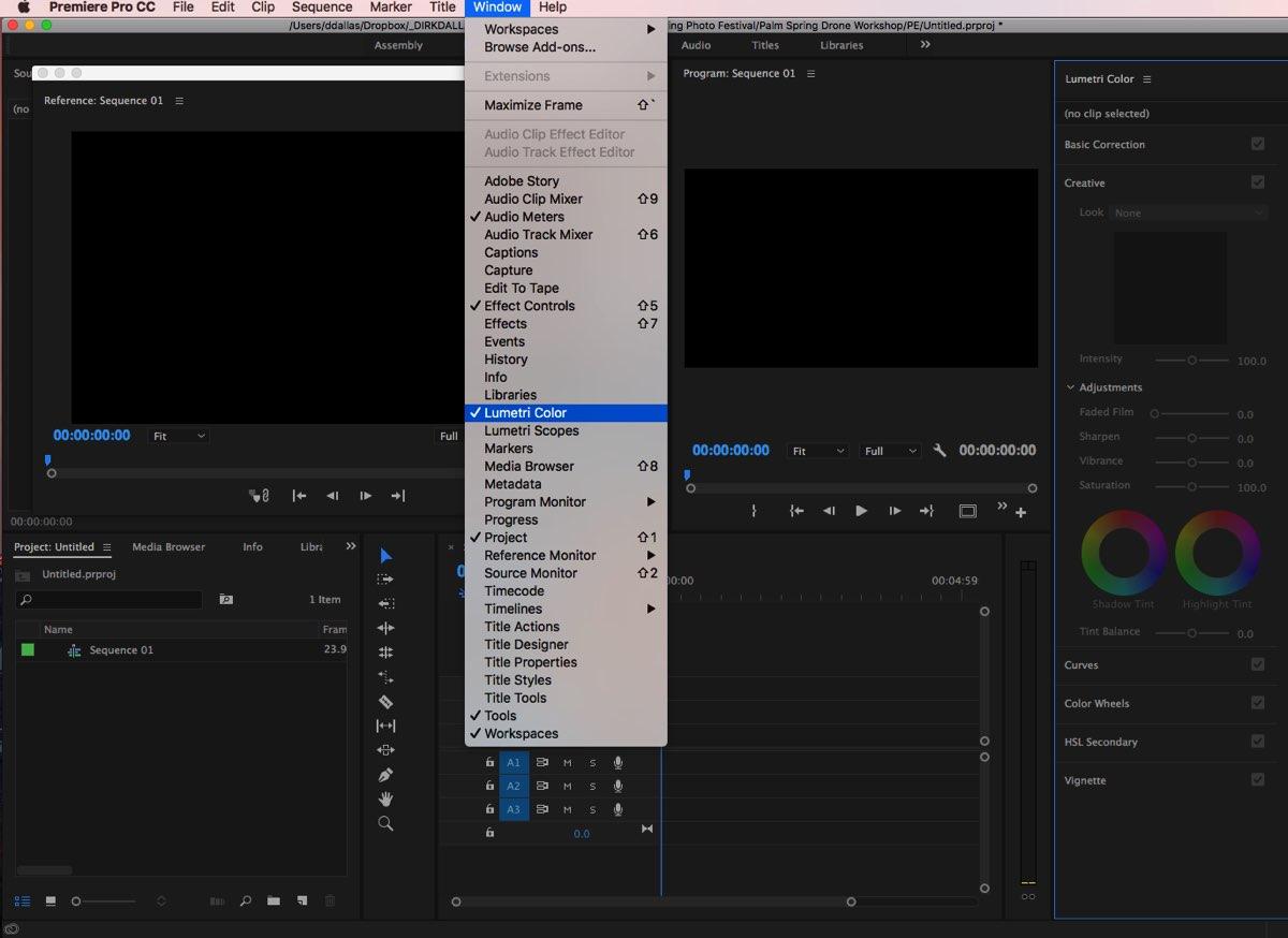 Adobe Premiere Lumetri