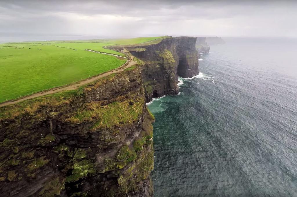 Ireland drone aerial video