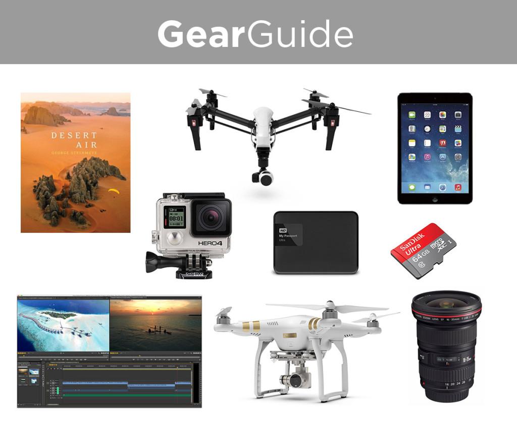 drone aerial gear guide