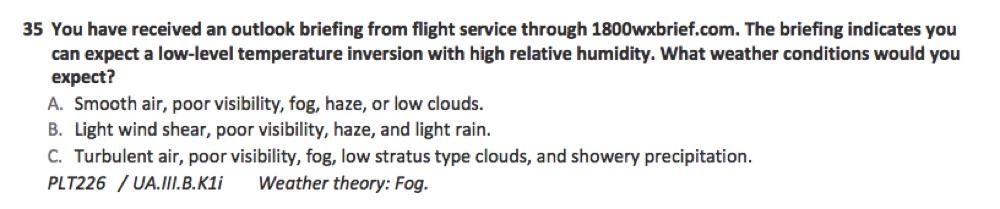 FAA Part 107 practice question 0