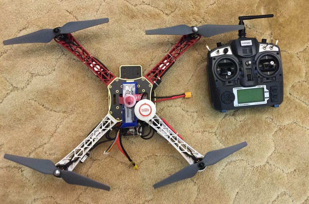 how to build a quadcopter drone rig