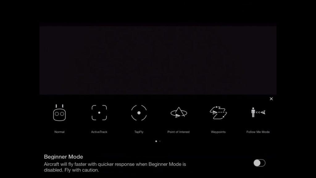 Intelligent Flight Modes-DJI Go App Drone