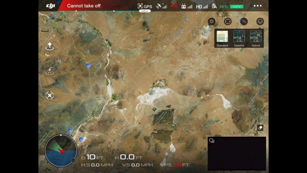 Maps-DJI Go App Drone