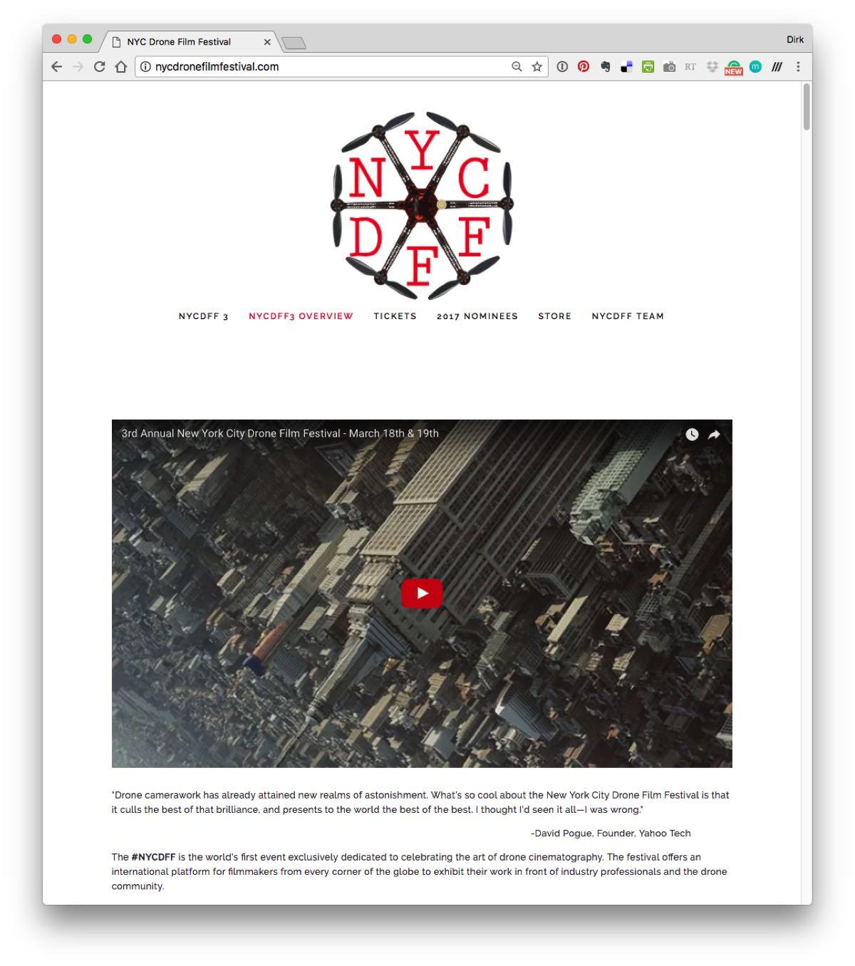 new york city drone film festival nycdff