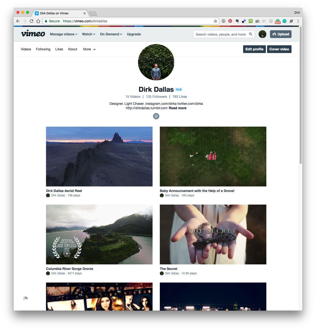 vimeo drone