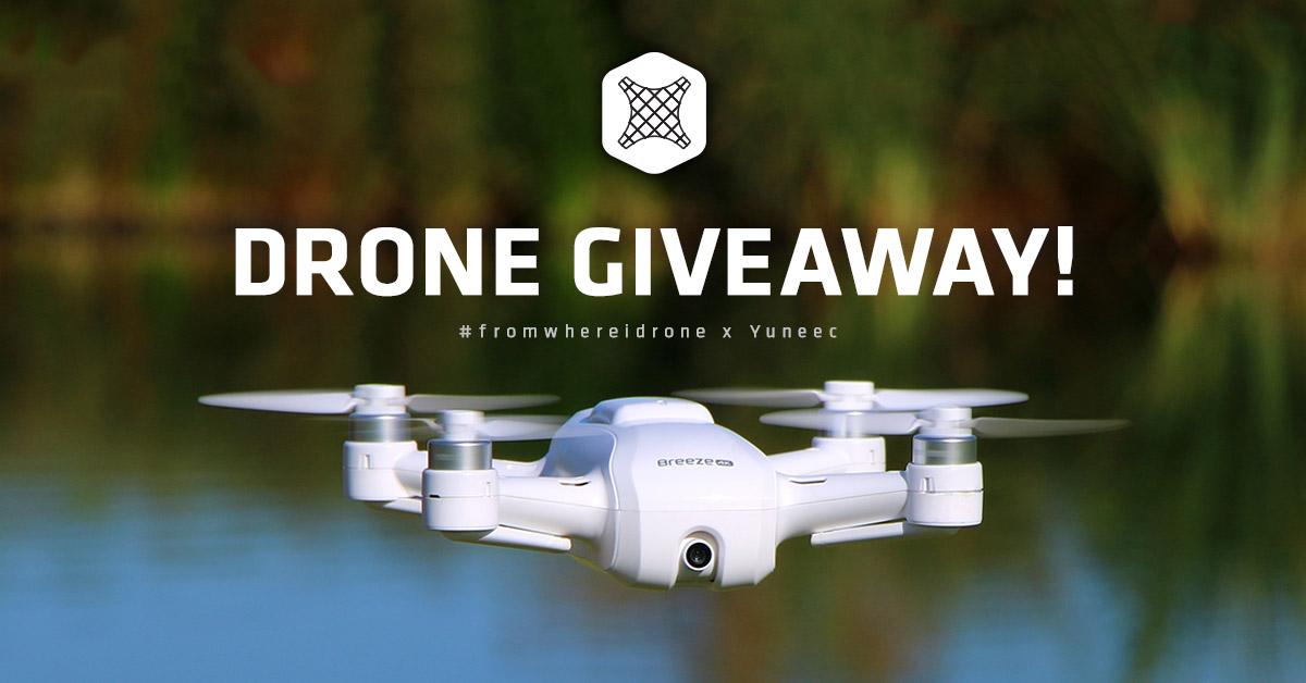 Yuneec Breeze 4K Drone giveaway