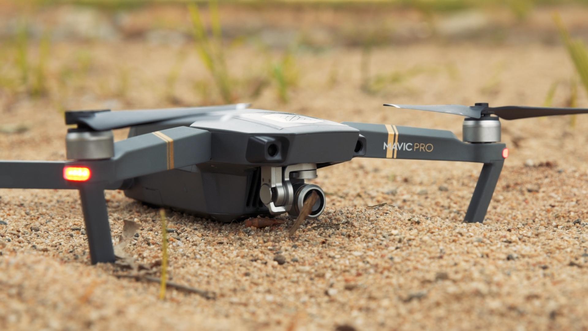 Hand catching & launching drone -