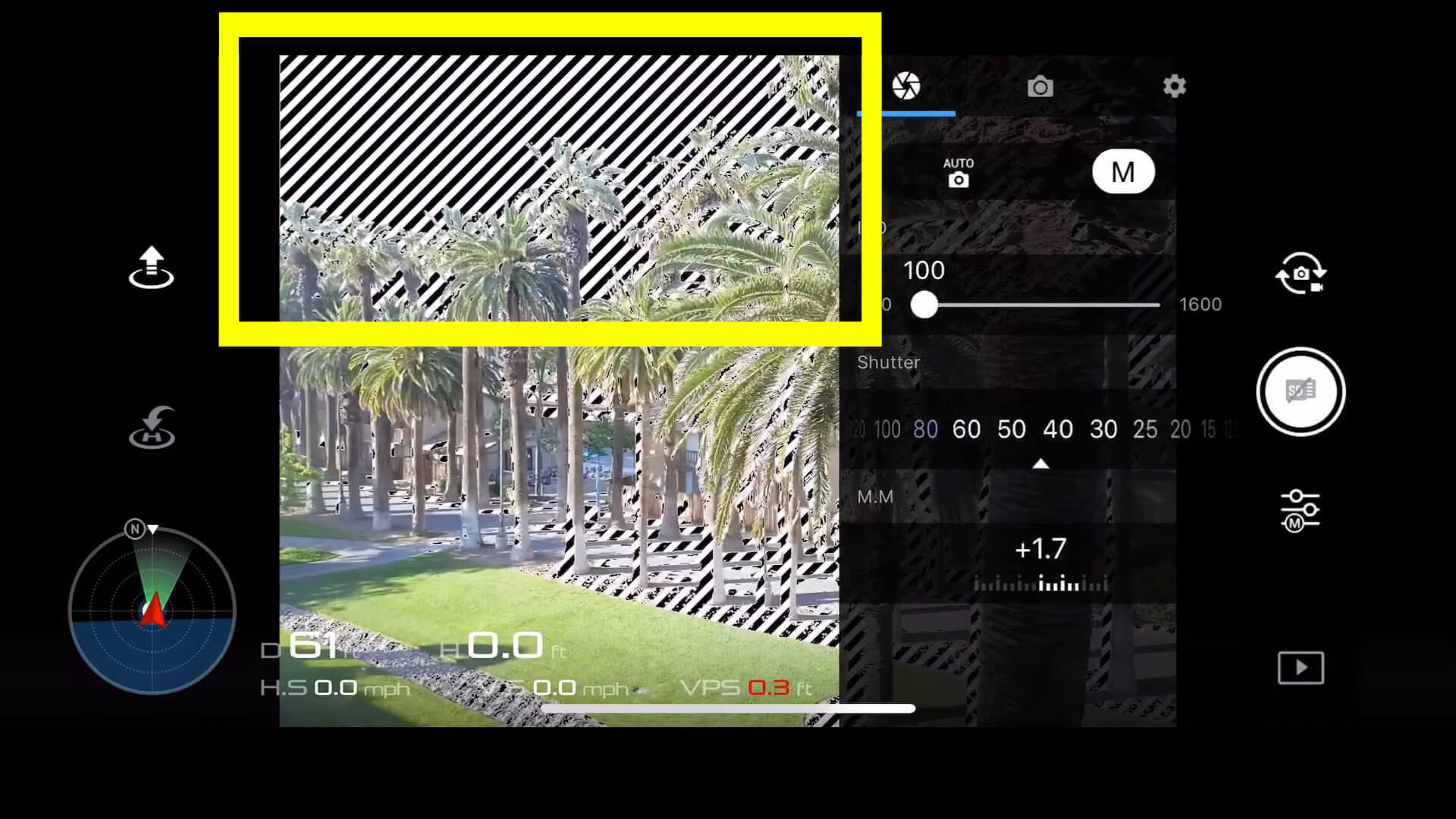 10 basic camera settings for dji drone photos - overexposure
