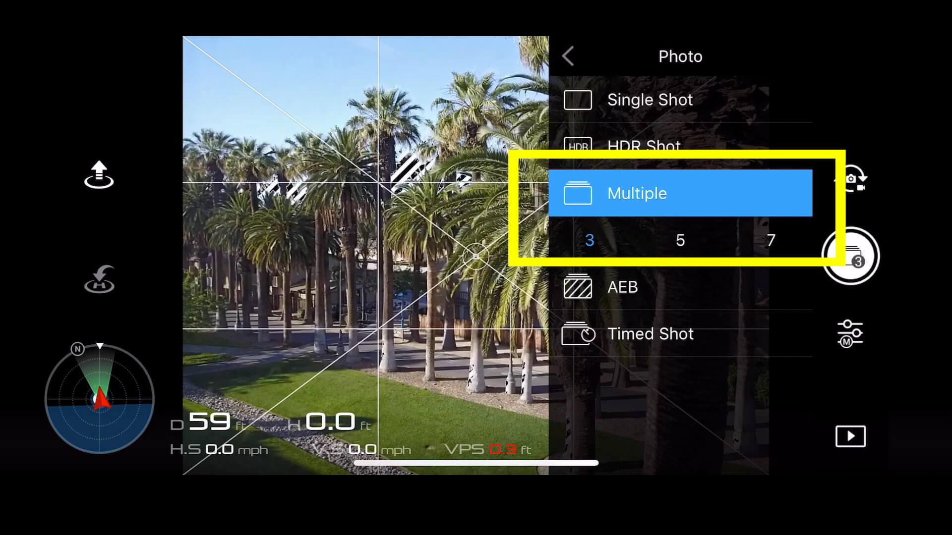 19 basic camera settings for dji drone photos - multiple