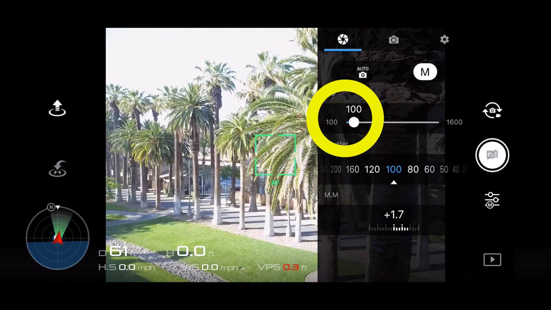 2 basic camera settings for dji drone photos - 2 noise
