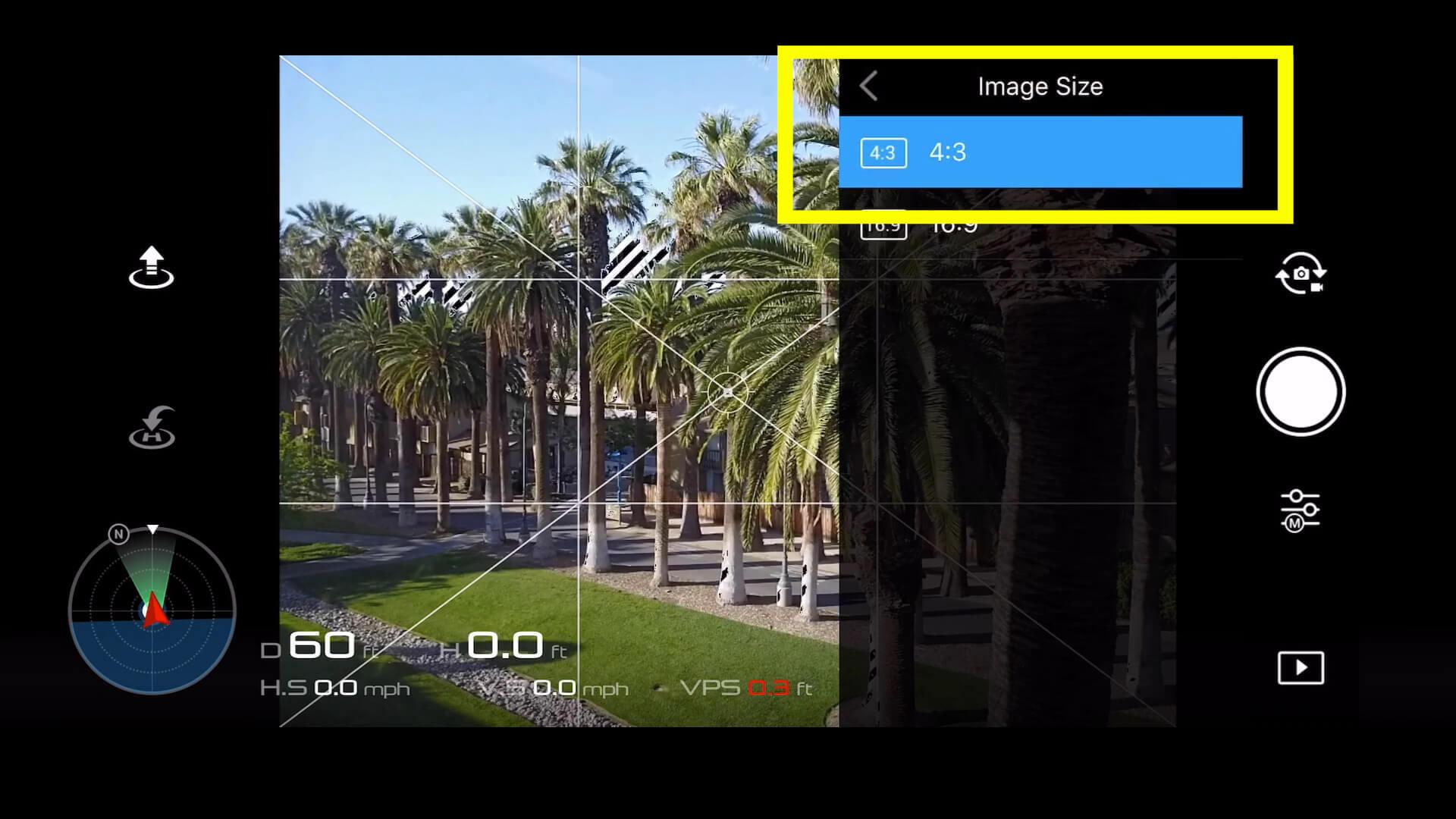 21 basic camera settings for dji drone photos - image size