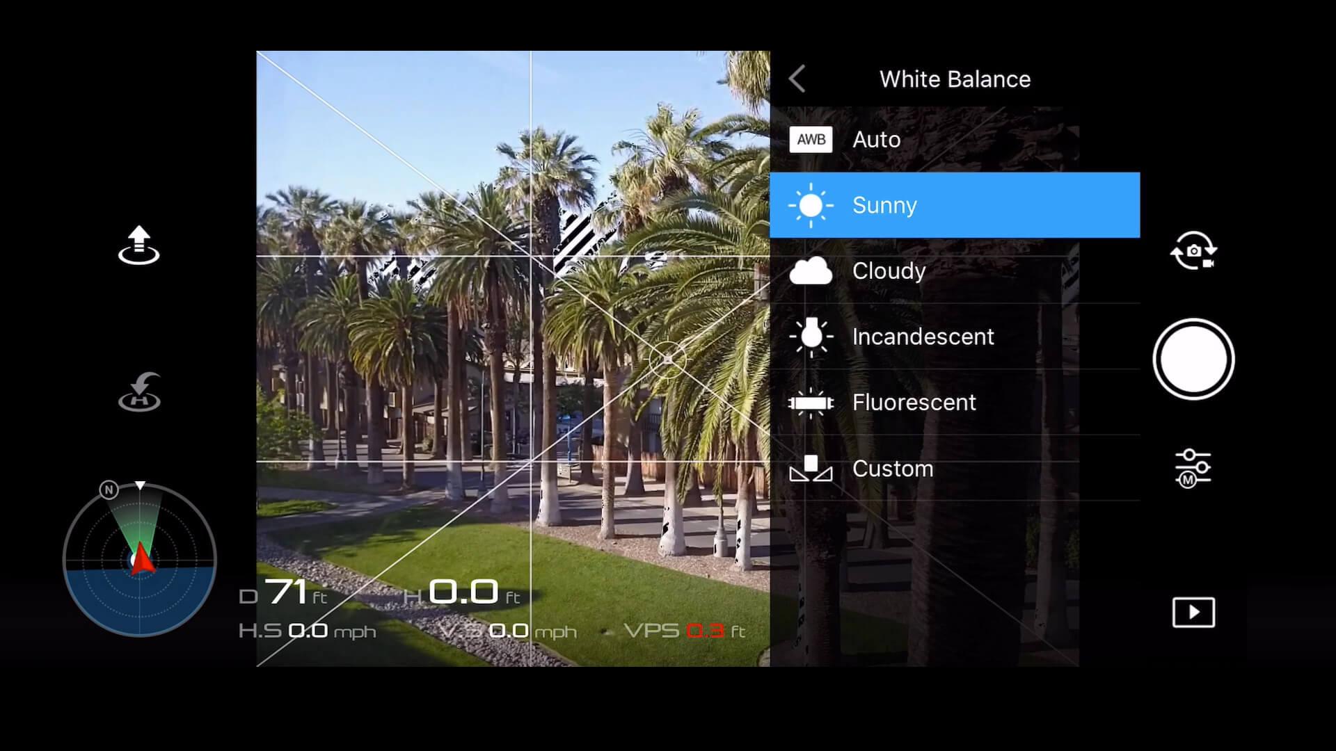 24 basic camera settings for dji drone photos - white balance