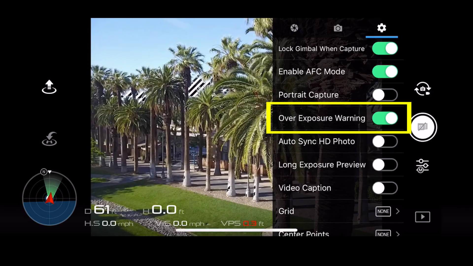 9 basic camera settings for dji drone photos - overexposure