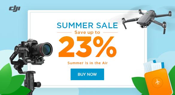 DJI Summer Sale