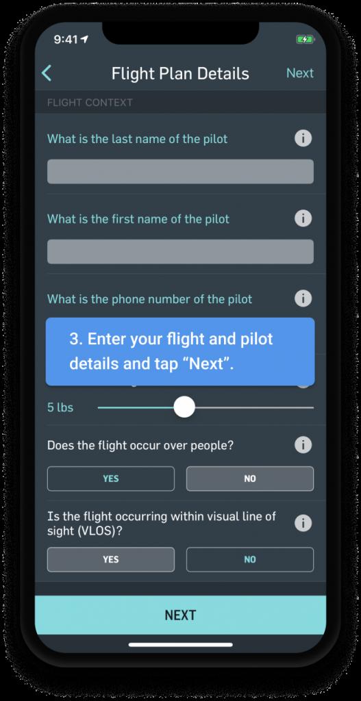 3_LAANC drone -flight_planning